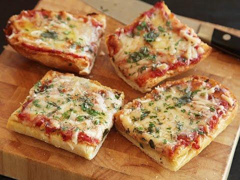 Vegetable Bread Pizza : Quick Recipe