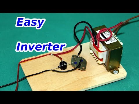 Simple Inverter 12 to 120 volts