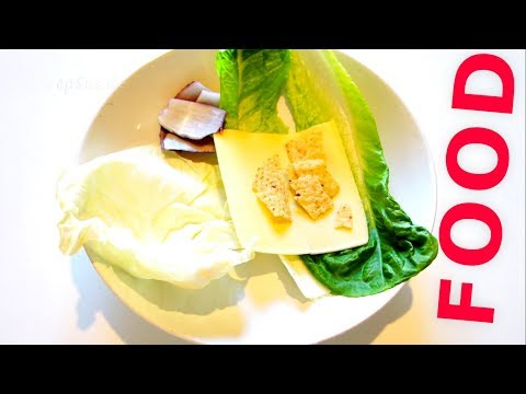 How to make a Sandwich without Gluten and Bread.