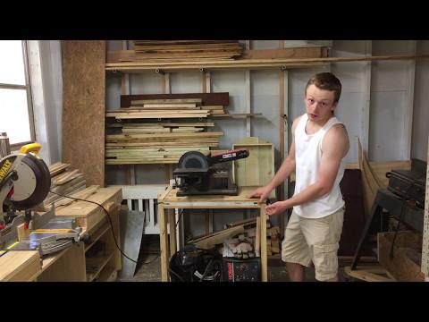 Make A Flip Top Tool Stand
