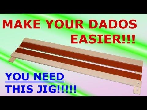 Simple Router Dado Jig