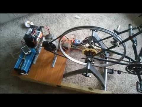 Bicycle Generator: (BEST DESIGN) Stay In Shape & Power Electronics