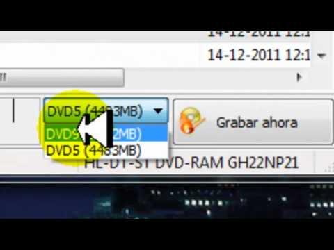 Como grabar DVD de Video_TS con Nero
