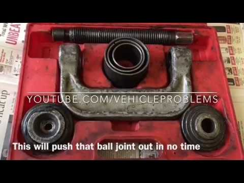 1995-2002 Lincoln Continental ball joint replacement problems issue install removal Taurus Sable