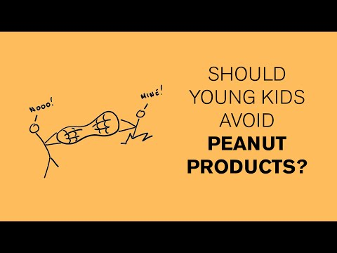 Can peanut allergies be avoided by early exposure?