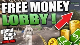 FREE GTA 5 ONLINE MONEY LOBBY PS4 / PC (LIVE) - EVERYONE CAN COIN!