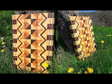 Wanna Learn How To Build Awesome Cutting Boards? Watch This!