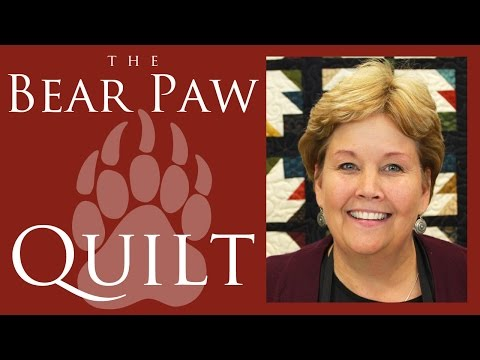 The Bear Paw Quilt: Easy Quilting Tutorial with Jenny Doan of Missouri Star Quilt Co