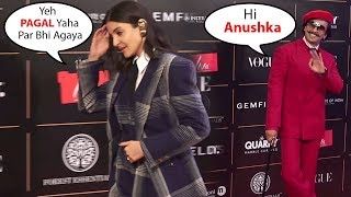 Anushka Sharma IGNORES Ranveer Singh In Public @  VOGUE WOMEN OF THE Year 2019