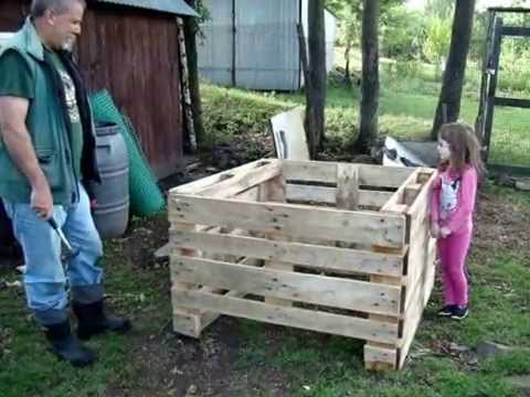 Homesteading (45): Compost bin made of pallets - How to