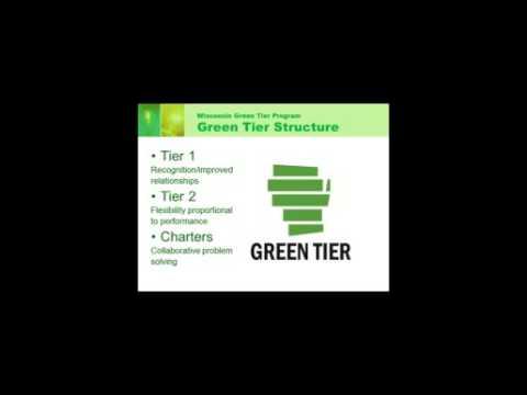 Wisconsin DNR Green Tier Program