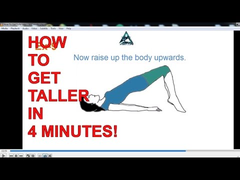 How To Get Taller Fast Naturally - (A MUST SEE!!!)