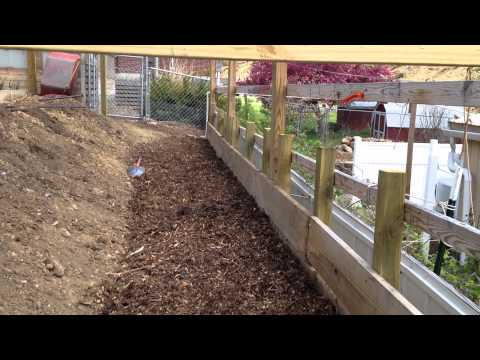 Leaning Fence part 3 lpgardener
