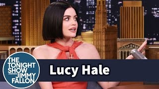 *NSYNC Superfan Lucy Hale Cried When She Met Justin Timberlake