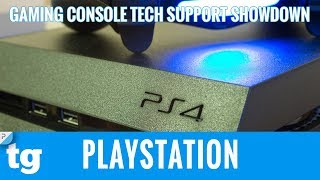 Gaming Tech Support Showdown 2017: PlayStation