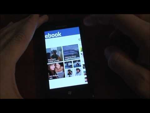 Facebook app for WP7