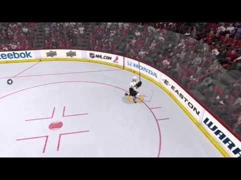 Sick goal on Be a Pro mode | NHL 2k11