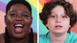 Kids Tell Adults How To Be Happy