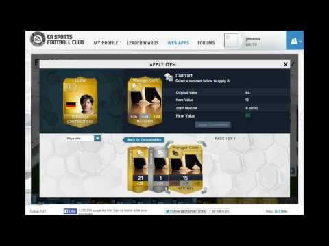FIFA 14 | Tip #1 | Player & Manager Contract Upgrades