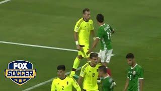 Mexico threw everything at Venezuela to avoid Argentina in quarterfinals.