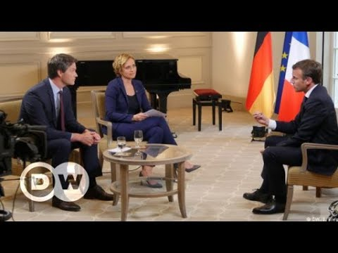 Macron: 'The status quo in Europe is bad for everybody' | DW English