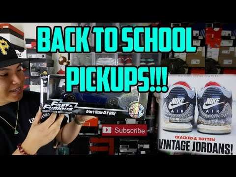 BACK TO SCHOOL PICKUPS!!!