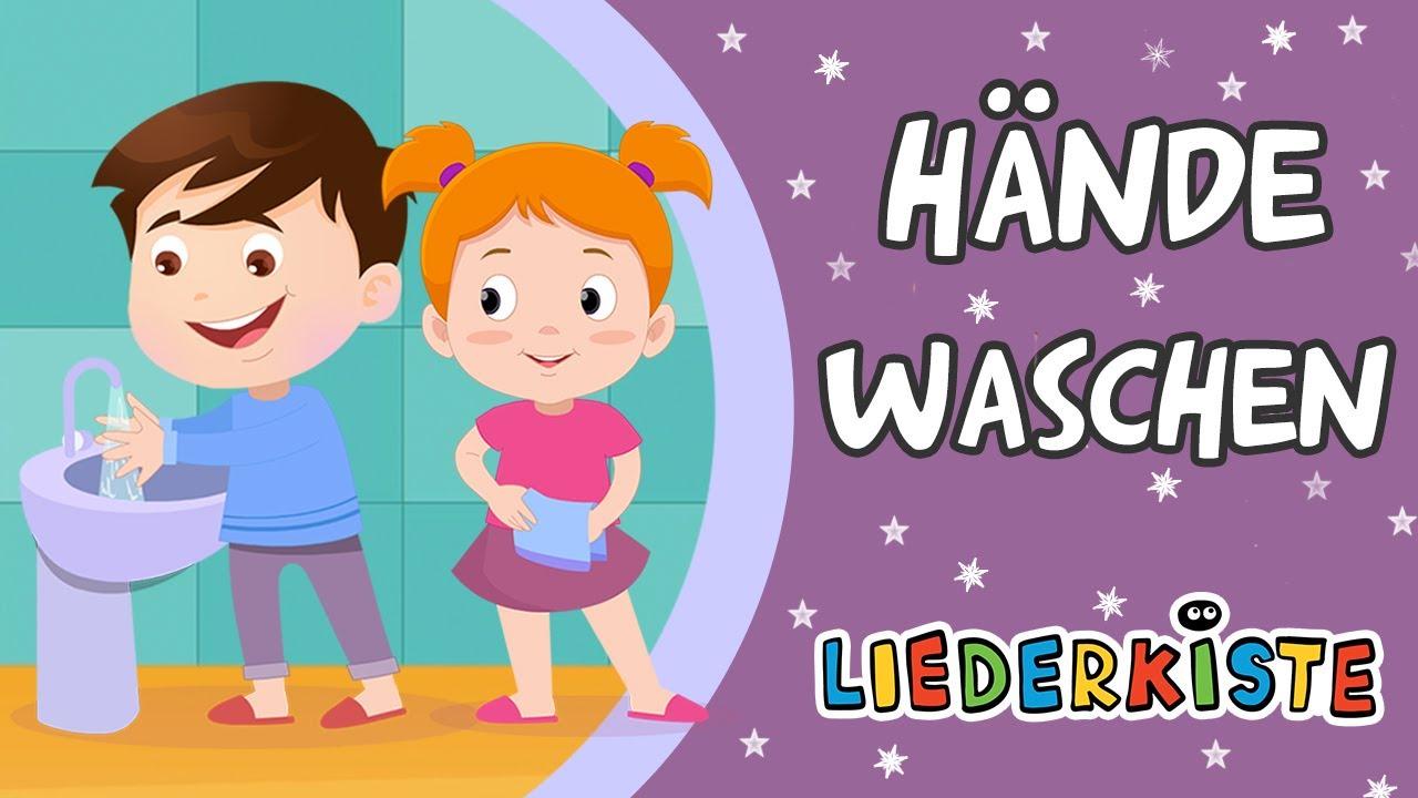 Hände waschen - Und weitere Kinderlieder | Liederkiste