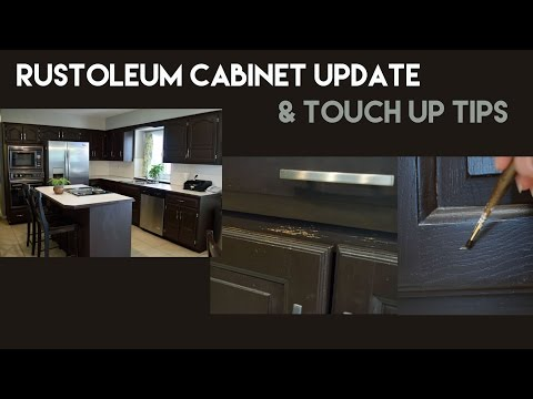 Rustoleum Kitchen Cabinet Update & Touch Up Tips