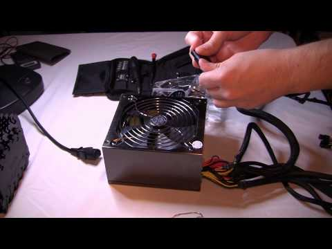Basic PC Troubleshooting: Test A Power Supply with a Paperclip