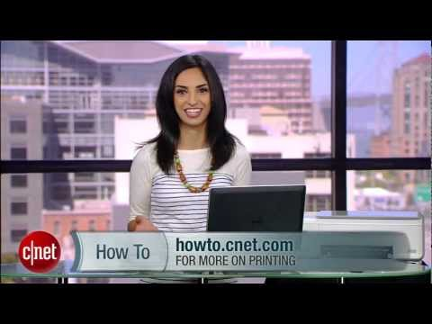 CNET How To - Print e-book pages