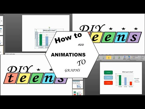 How to add animations to graphs - PowerPoint 2010