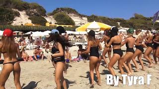 IBIZA girls beach parade