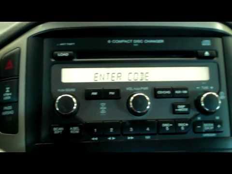 How to reset you HONDA's anti-theft radio security by Matt Nimey.mp4