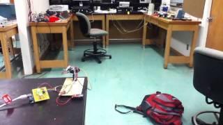 Arduino laser scanner - YouTube