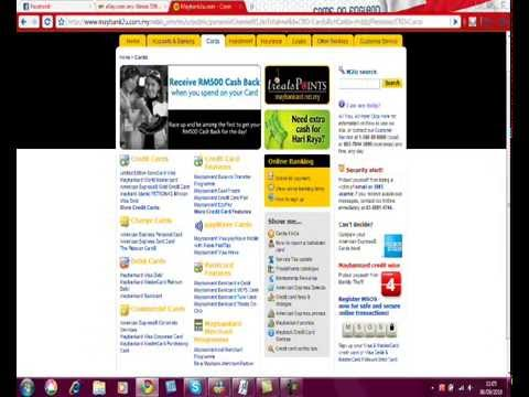 How to do online banking in maybank2u