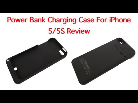 Power Bank Charging case for 5/5S review