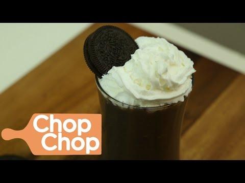 Low Calorie Oreo Milkshake | Chop Chop