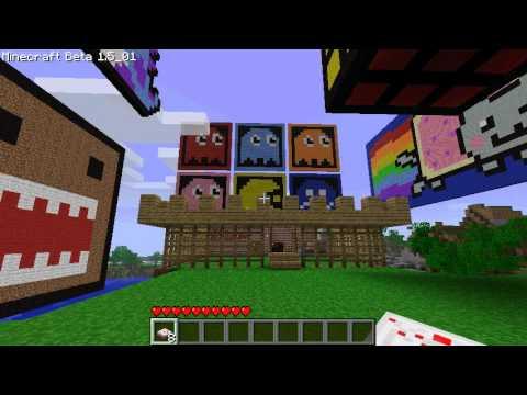 Minecraft Creations ft. Poptart Cat (Nyan Cat)