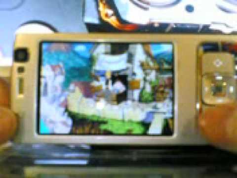 Monkey Island 3: Curse of Monkey Island on Nokia N95 ScummVM