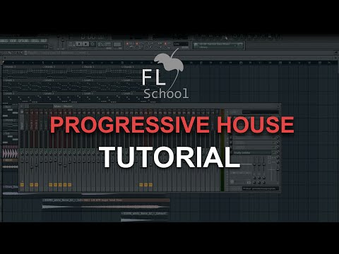 HOW TO MAKE: A PROGRESSIVE HOUSE DROP - FL Studio tutorial