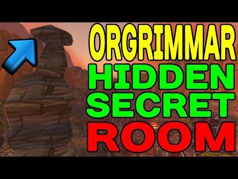 World of Warcraft: Orgrimmar's Hidden SECRET Room !!