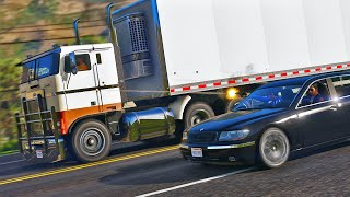 The Truck Chase - GTA 5 Action Movie