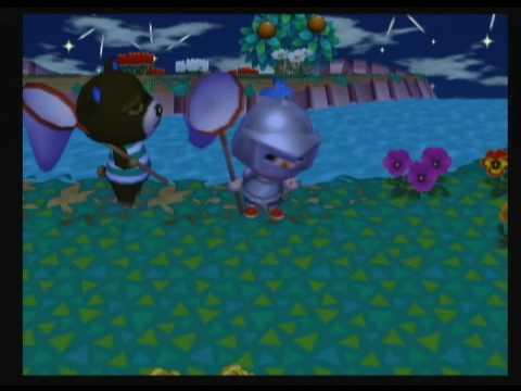 Animal Crossing City Folk - Catching a Flea