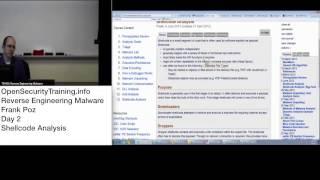 Debugging shellcode using BlobRunner and IDA Pro - OALabs