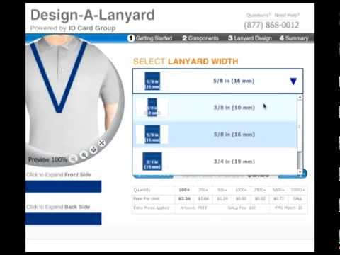 How to Design A Lanyard - Easily Customize with Logo & Text
