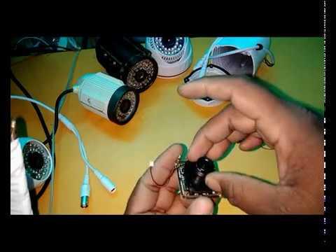 [HINDI]how to make cctv camera बहुत कम कीमत में सीसीटीवी कैमरा असेंबल करे