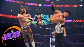 Akira Tozawa vs. The Brian Kendrick: WWE 205 Live, April 4, 2017