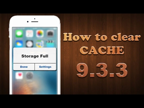 CYDIA TWEAK: How to Remove Junk Files And Cache File In ios 9 to 9.3.3 CYDIA