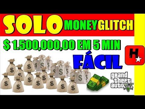 GTA 5 SOLO Money GLitch Duplique Seu Dinheiro💲1.500,000,00 a cada 5 Min💲GTA V Solo Money Glitch 1.43