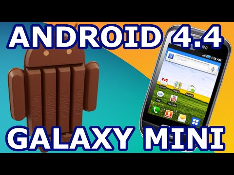 Actualizar Galaxy Mini a Android 4.4